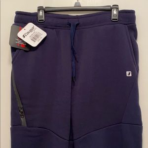 NWT Cougar Sports Fleece-lined Joggers Lg